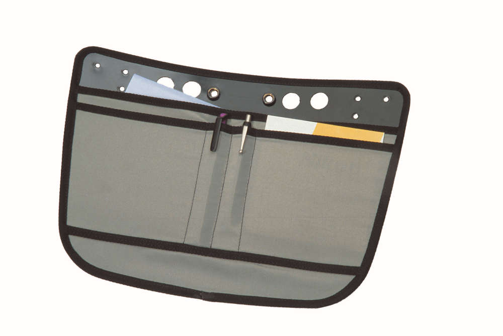 ORTLIEB Messenger-Bag Organizer - grey