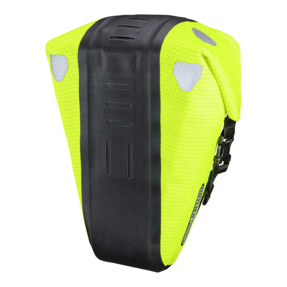 ORTLIEB Saddle-Bag Two High Visibility - neon yellow - black reflex
