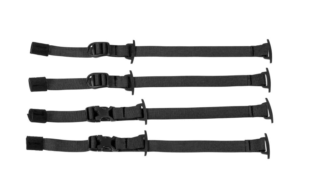 ORTLIEB Gear-Pack Compression-Straps - black