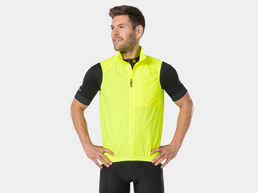 Bontrager Weste Circuit Windshell XS Visibility Yellow